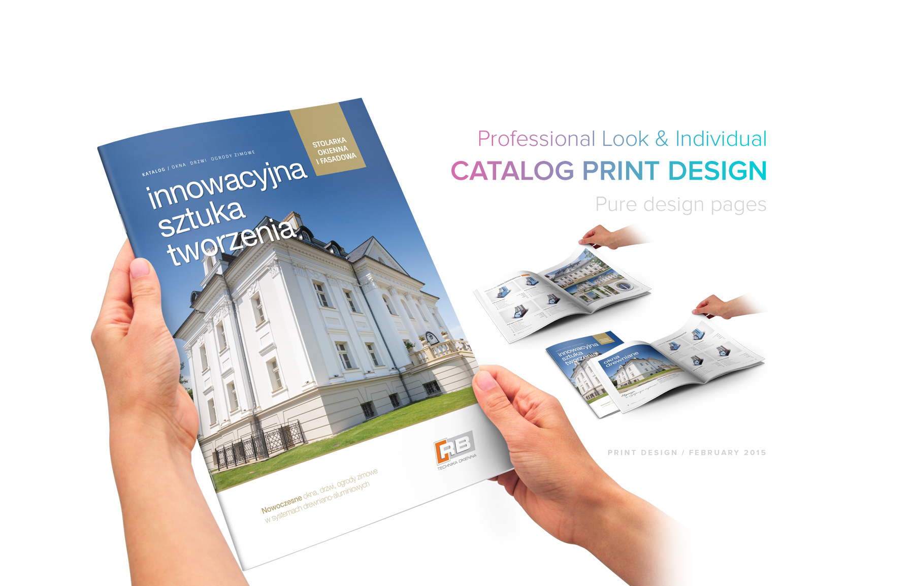 Catalog Product Print Professional Design